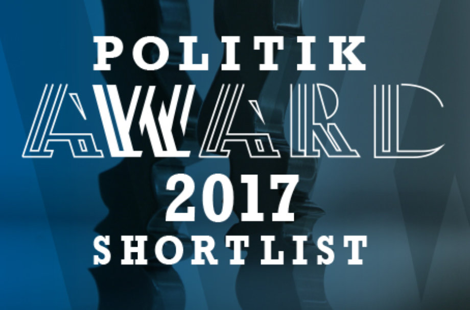 Politik Award 2017 Shortlist