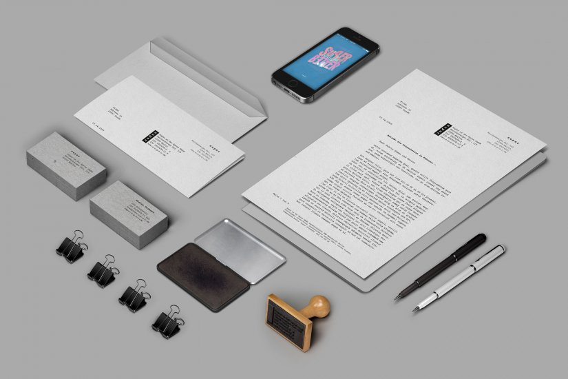 Super Corporate Design 02 Stationary