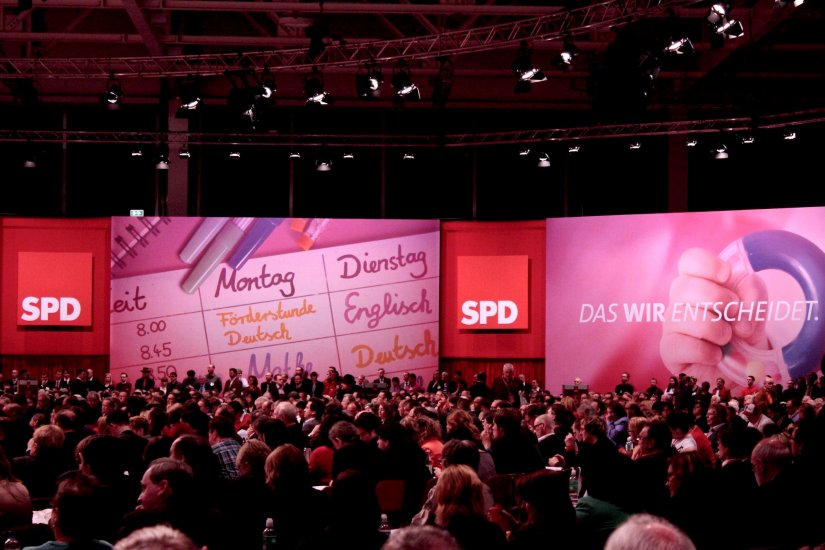 Super Spd 501 Parteitag Event